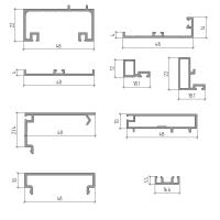 Профіль примикання дверей