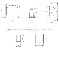 Кріплення до вентильованих фасадів